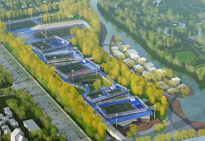 北京·未来科技城体育活动中心